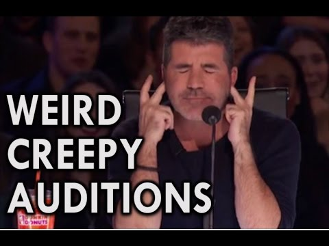America's Got Talent 2016 MOST INSANE CREEPY AUDITIONS from YouTube · Duration:  22 minutes 14 seconds