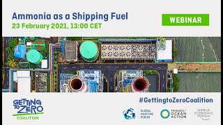 Ammonia as a Shipping Fuel | Getting to Zero Coalition