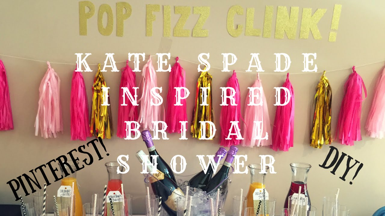 kate spade inspired bridal shower tina slayer