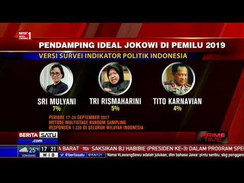 Survei: Ahok Kandidat Kuat Pendamping Jokowi di Pemilu 2019