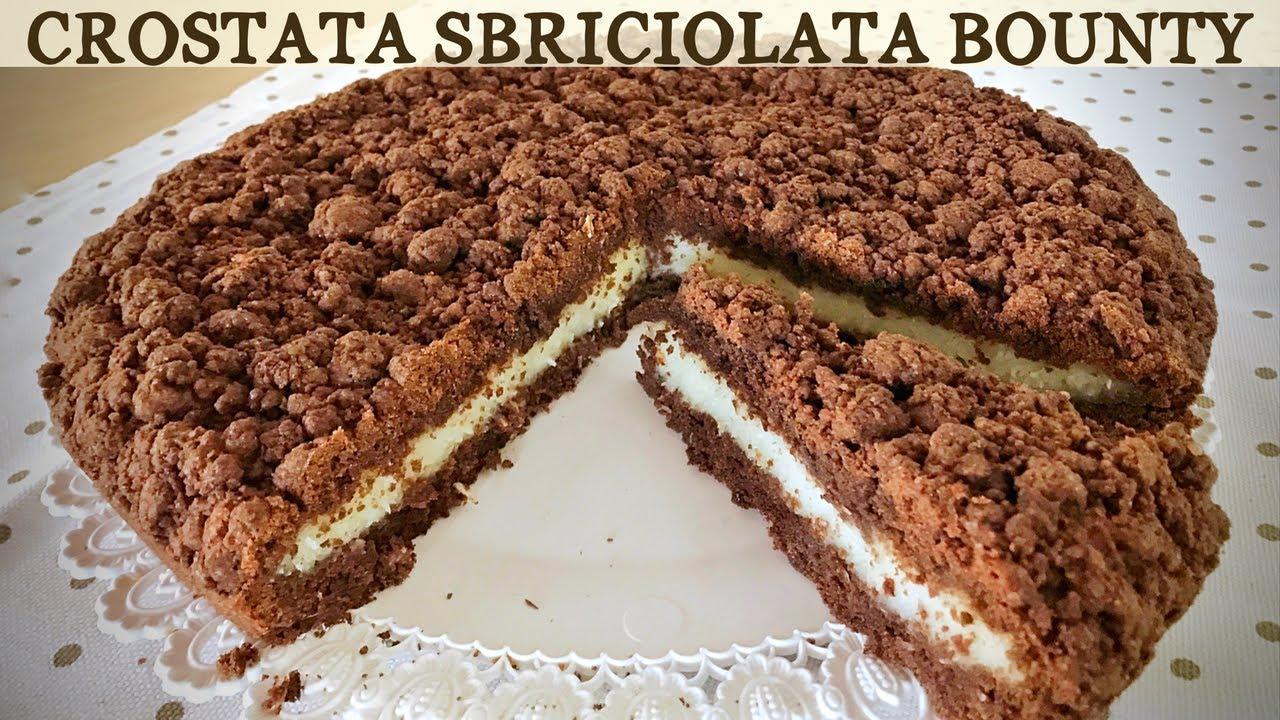 Crostata Sbriciolata Bounty Di Benedetta Ricetta Facile Coconut