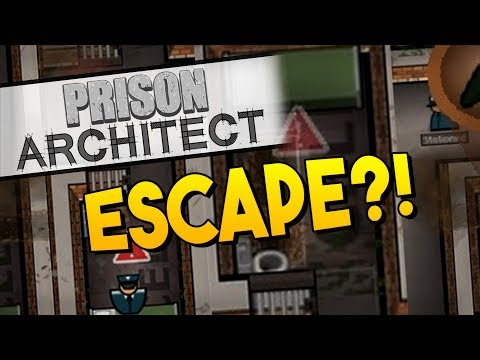 Prison Architect - ESCAPE! ★ Maximum Security, Staff Canteen, Gang leaders, Parole hearings - #8
