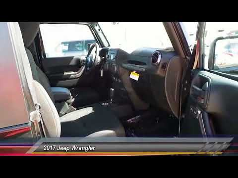 2017 Jeep Wrangler Odessa TX HL739743