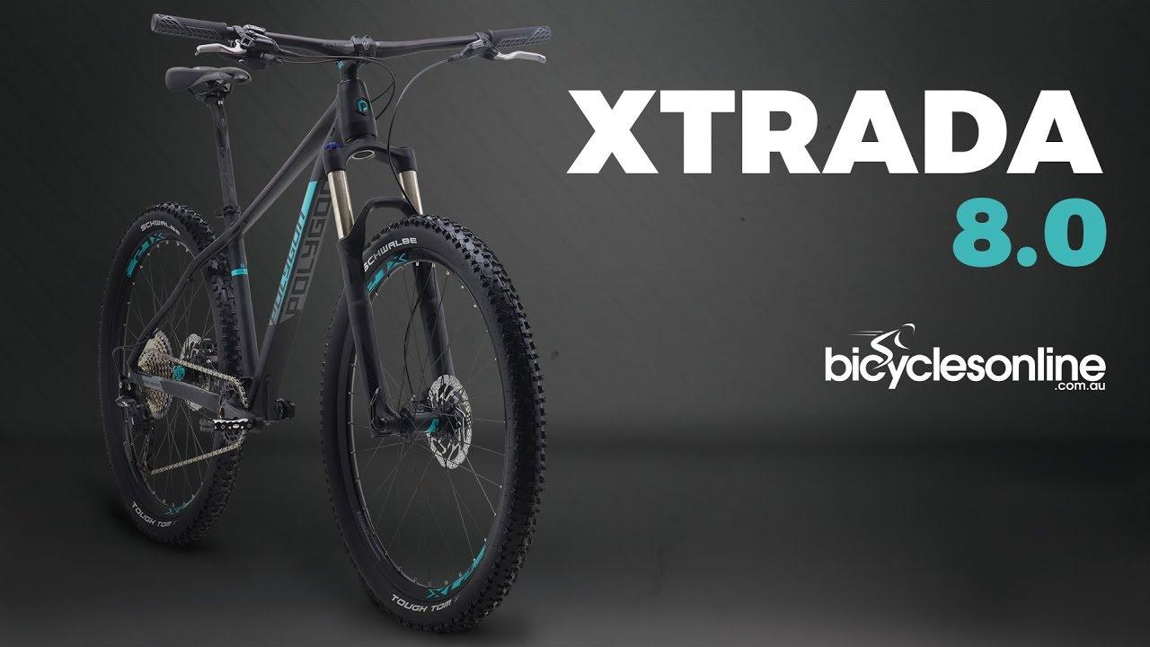 c8730fd5170 Polygon Xtrada 8.0 Mountain Bike - YouTube