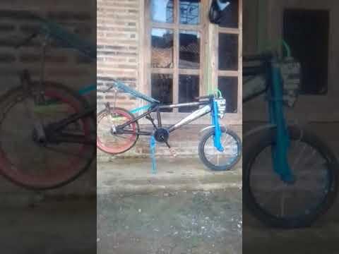 Modifikasi Sepeda Drag Warisan Kakek Youtube
