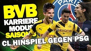CL ACHTELFINAL-HINSPIEL Gegen PARIS ST. GERMAIN (PSG) ♕ FIFA 17 KARRIEREMODUS BVB S3 #38