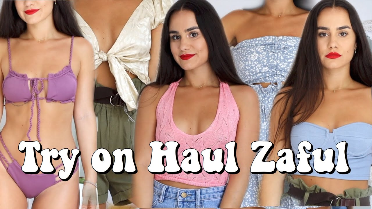SÚPER TRY ON HAUL ZAFUL ¡350€ en bikinis y ropa de verano!