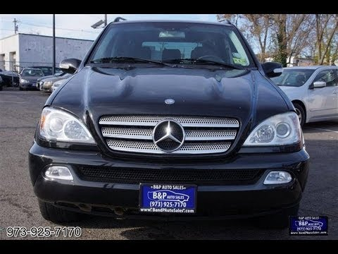 2005 mercedes benz ml class ml500 special edition - Mercedes Suv 2005