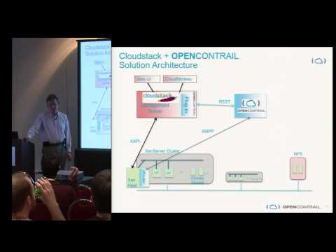 Open Cloud Networking with OPENCONTROL and CloudStack