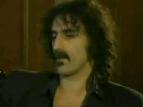 Frank Zappa - Andy Warhol's TV, Interview, 1983