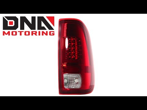 3rd Brake Light for 97-02 Ford Expedition Chrome Housing Clear Lens LED Third