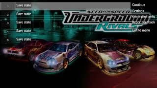 Need For Speed Underground rivals gameplay
