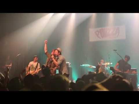Saves The Day - At Your Funeral - live 2013 - Live at Pouzza Fest Montréal 2013 // 99SCENES.COM