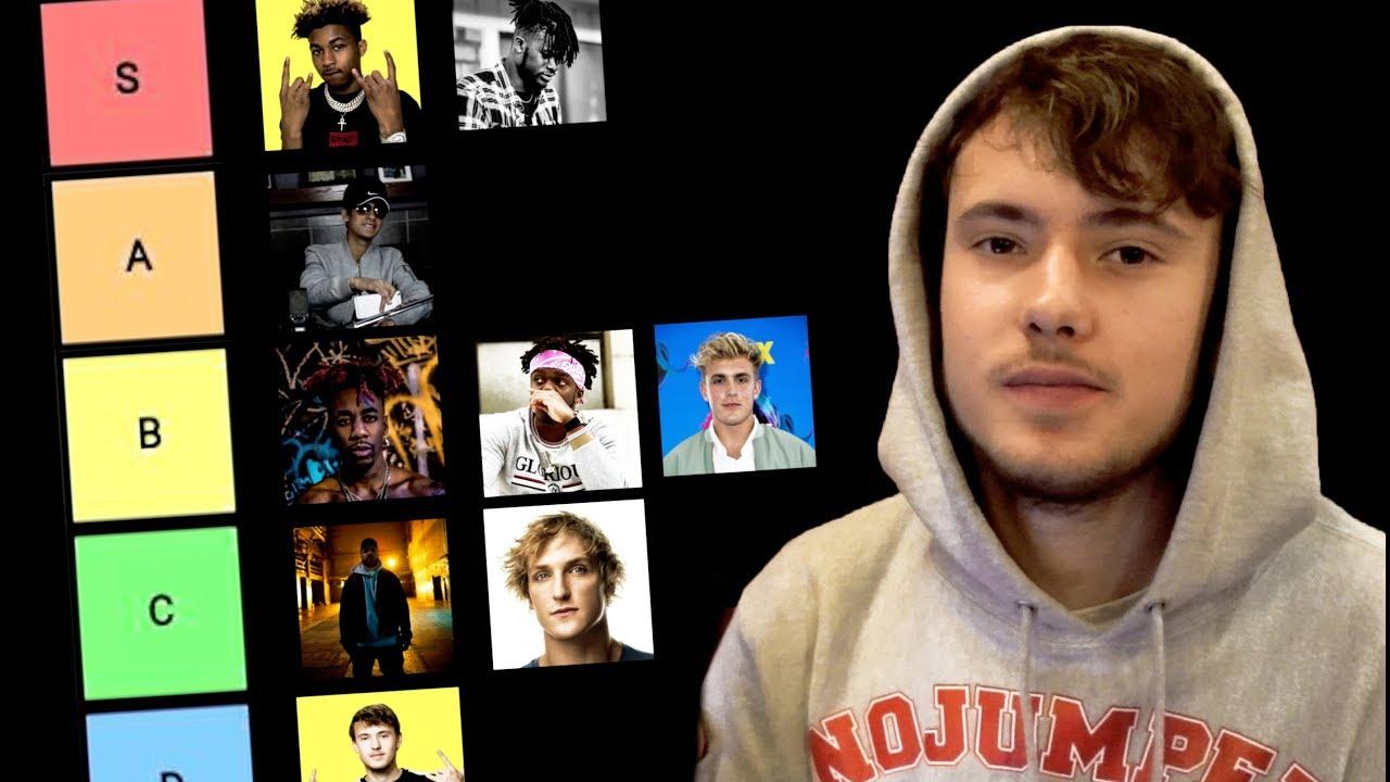 Download The Youtube Rapper Tier List (KSI, Deji, Dax, Crypt)