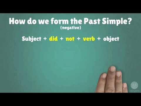 Past Simple Tense   Structuring Sentences