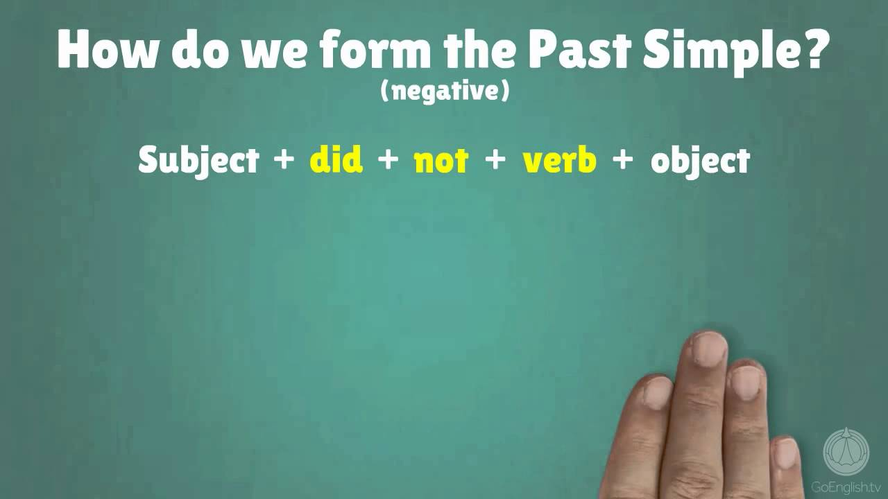 Past simple exercises - mixed forms