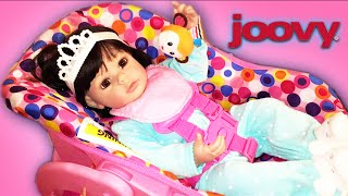 Trying Joovy Toy Car seat with Paradise Galleries and Adora Dolls with Review and Details
