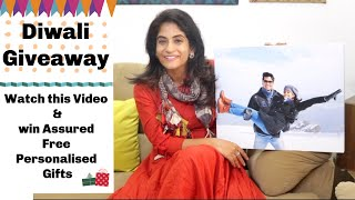 Diwali Giveaway | Everyone Who Views the Video Gets a Personalized Gift !