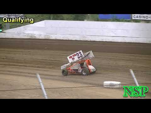 August 25, 2018 360 Sprints Qualifying Grays Harbor Raceway