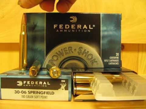 30-06 Federal 180 Grain Soft Point Power-Shok Ammo 3006B at SGAmmo com