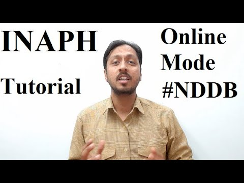 Complete Tutorial Video on INAPH ||NDDB|| thumbnail