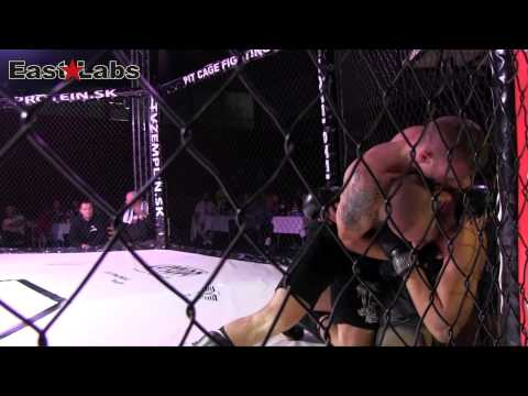 2012 MMA Pit Cage Fighting 4   Miroslav Kmec vs Róbert Gunda