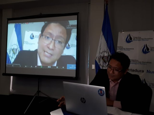 Conversatorio sobre violaciones a la libertad de expresión en Nicaragua