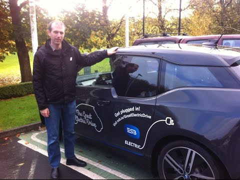 Testing the BMW i3 Electric Car on the Streets of Galway