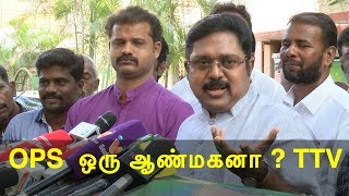 OPS and EPS are agents of BJP ttv dinakaran tamil news, tamil live news, news in tamil redpix