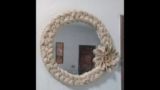 Handmade  mirror decoration