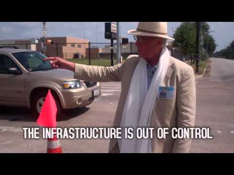 """Infrastructure """"Improvements"""" on West Dallas and Taft"""