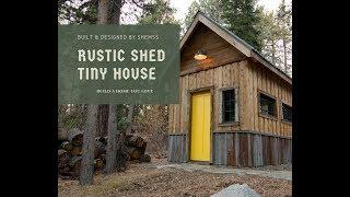 Tiny Houses Shed Plans - Mariagegironde