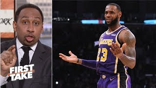 LeBron James is 'beyond being critiqued' in regular season - Stephen A. | First Take