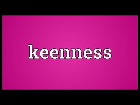 Header of keenness