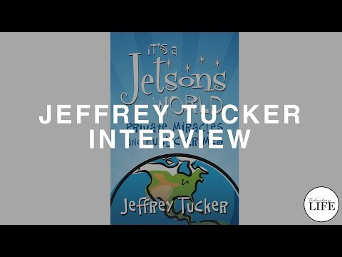 """Author Interview: Jeffrey Tucker on """"It's A Jetsons World"""""""