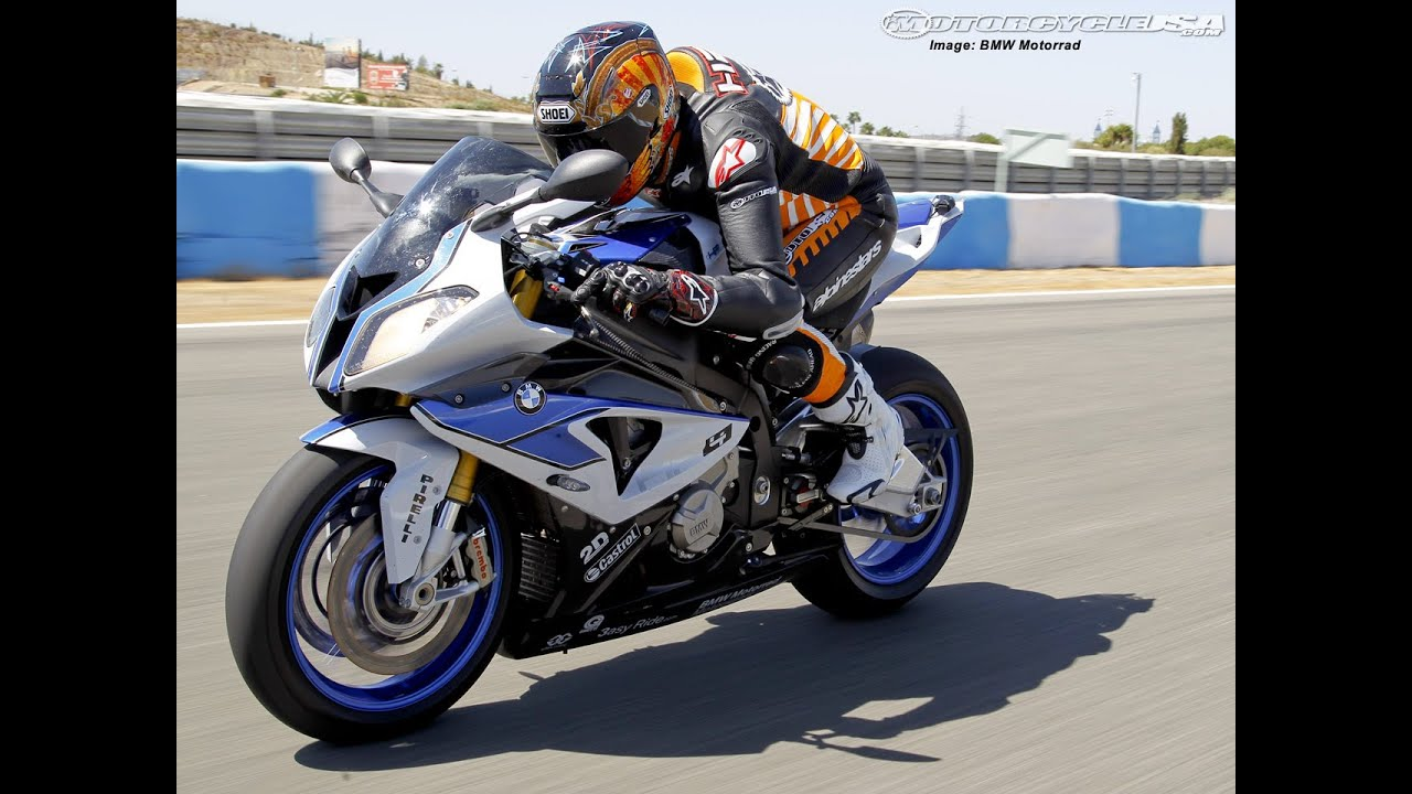 2013 BMW S1000RR HP4 First Ride - MotoUSA - YouTube