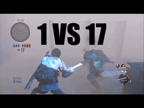 1 vs 17 Comeback! - The Last of Us: Remastered Multiplayer (High School)
