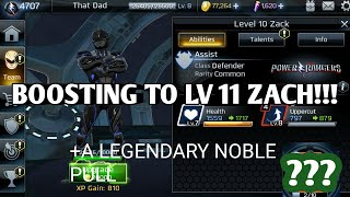 A LEGENDARY NOBLE BOX + STAT BOOSTING MOVIE ZACH!!!  POWER RANGERS LEGACY WARS LEAGUE 9