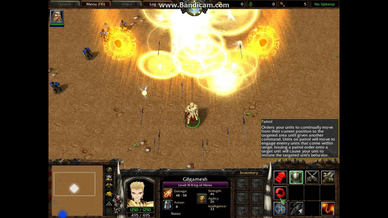 Warcraft III - Fate/Series - Gilgamesh