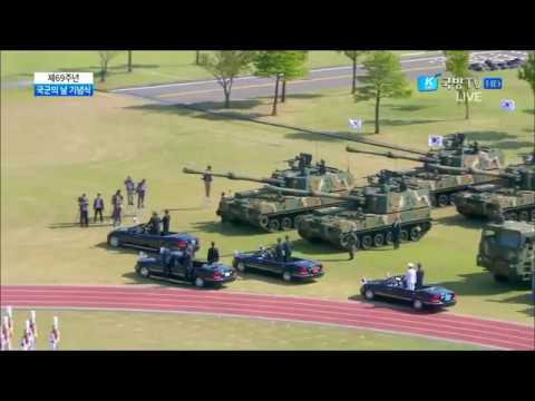 K Force TV   South Korea Armed Forces Day Parade 2017   Full Army Assets Segment 720p