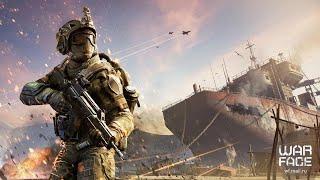 Играю в Warface лицо войны Eu сервера.