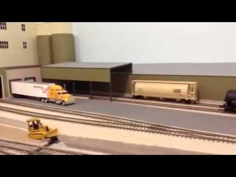 Q&NE HO Layout Video 010 - 130104