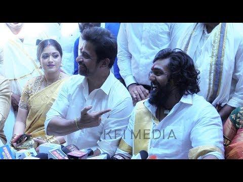 ಸಿನಿಮಾ ಸ್ಟೈಲ್ ಅಲ್ಲಿ ಲವ್ ಮಾಡಿದ್ರಂತೆ ಧ್ರುವ ಸರ್ಜಾ   Dhruva Sarja Engagement   Arjun Sarja