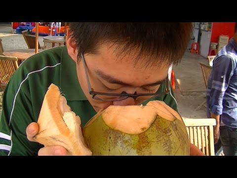 Jakarta Street Food 807 Fresh Young Coconut By Zhong Ru from