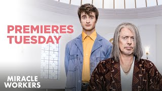 Miracle Workers: Premieres Tuesday at 10:30/9:30c | TBS