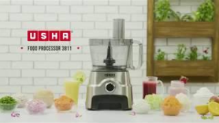 How to Use Usha Food Processor 3811