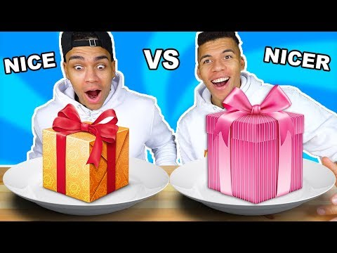 NICE VS NICER CHALLENGE !!! #niceones | Kelvin und Marvin
