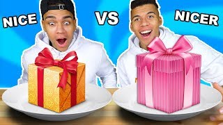 NICE VS NICER CHALLENGE !!! #niceones   Kelvin und Marvin