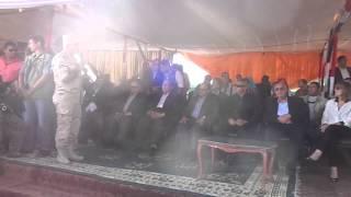 قناة السويس الجديدة :  وزراء التنمية المحلية والزراعة والشباب والانتاج الحربي