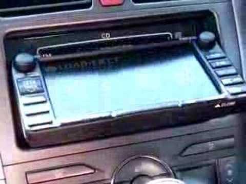 toyota sat nav stereo youtube rh youtube com 2001 Toyota Auris 2001 Toyota Auris